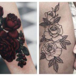 Aprenda sobre el significado de las rosas para tatuajes, aquí