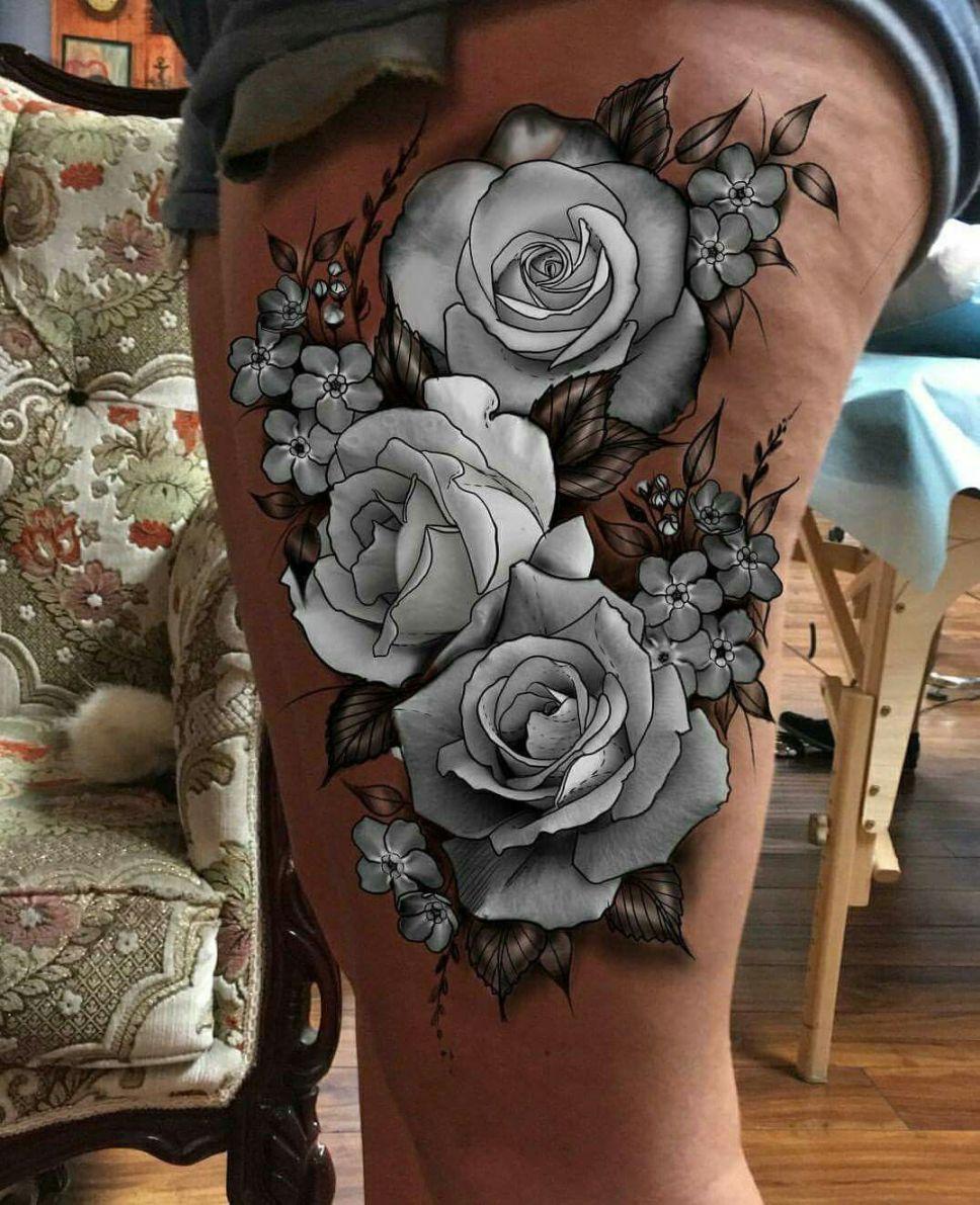 rosas para tatuajes