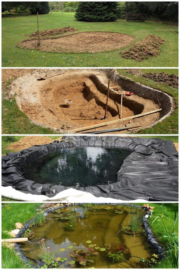 Cómo hacer un estanque 3
